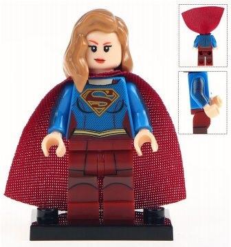 Фигурка Супергерл Supergirl DC Comics Super Heroes Аналог лего