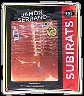 Хамон Subirats JAMON SERRANO GAS, нарізка 250г, 12шт/ящ