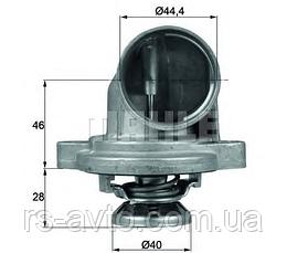 Термостат MB Vito (W638) 2.3TDI 96-03 (80°C)  A6012030075, фото 3