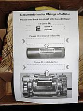 Комплект газогенератора подушки Toyota Corolla 04007-17202. Пиропатрон TOYOTA 04007-17202 INFLATOR Assy Kit, фото 3