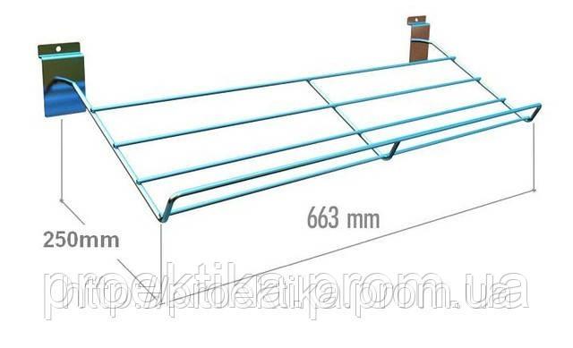 Полка для обуви наклонная (663 мм)