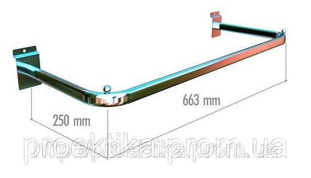 Рама на экономпанель 663х350 мм, труба 15х30 мм, фото 1