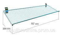 Полка решетчатая наклонная (997 мм), фото 1