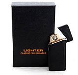 Электрическая USB Зажигалка на Аккумуляторе с Сенсорной Кнопкой, фото 2