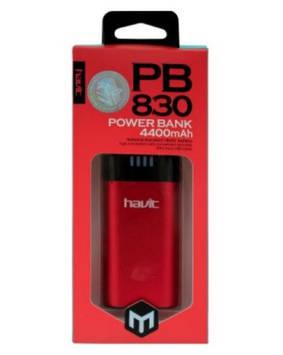 Зар. пристр. Havit Power Bank HV-PB830 4400mAh red