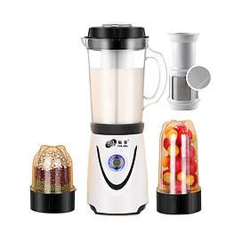 Мультимолка с 3 чашами (мини-мельница) для сухих и мокрых продуктов мини соевая корова