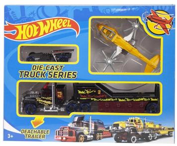 Машина Hot Wheel DIE CAST TRUCK черное авто YG Toys T-R115-E1