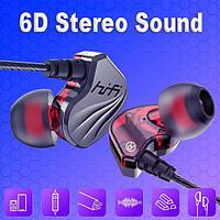 Мини-наушники спортивные M23 3D Hi-Fii стерео с микрофоном, штекер 3,5 мм, фото 1