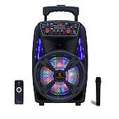 Активная акустическая система с беспроводным микрофоном AVCROWNS Pro, Мощность 100 Ватт