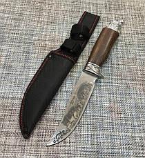 Охотничий нож с Оленями Colunbia 29см / Н-920, фото 2
