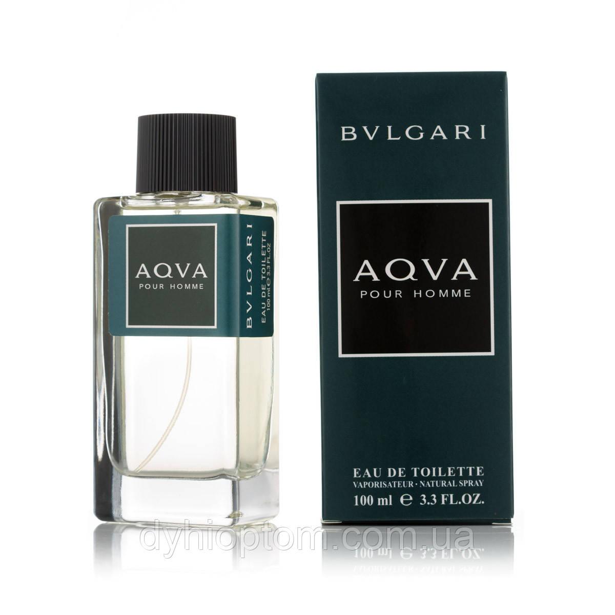 Чоловіча туалетна вода Bvlgari Aqva Pour Homme 100ml