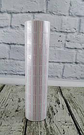 Цінники 12*21 мм 500 шт. білий L600 29330Ф