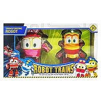 """Игрушки трансформеры """"Роботы Поезда / Robot Trains"""" (Утёнок и Селли / Duck and Selly)"""