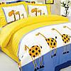 """Комплект постельного белья тм """" Тэп """" семейное Жирафы"""
