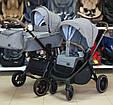 Детская Универсальная коляска 2 в 1 CARRELLO Epica (Каррелло Эпика) Silver Grey, фото 6
