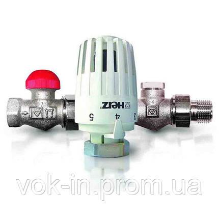 Термостатический комплект Herz Project угловой V772463, фото 2