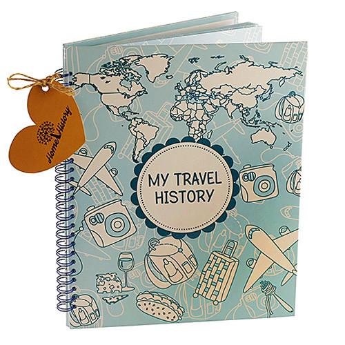 Альбом для фото на 22 сторінки Travel History