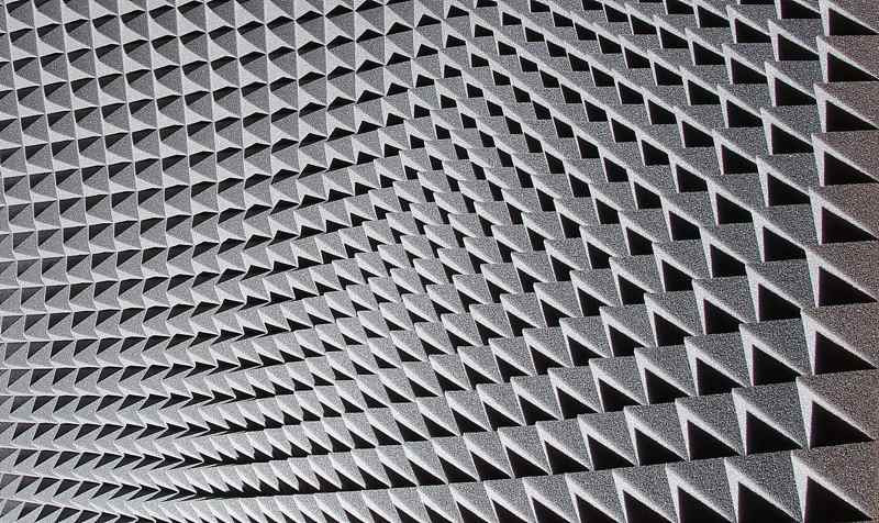 Акустический поролон Ecosound пирамида 70мм 1мх1м светло-серый,подвержен выцветанию
