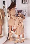 Халат махровый с сапожками для мамы и дочки, фото 4