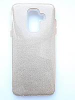 Чохол накладка Shine для Samsung А6 Plus рожевий