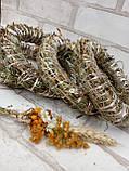 Веночек из соломы для декора дома d-15 см 20 грн, фото 3