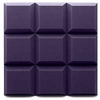 Панель из акустического поролона Ecosound Grid цвет черный графит, фото 1