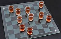 Алко шашки-рюмки 40х40см Гранд Презент 085м