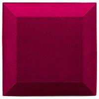 Бархатная акустическая панель из акустического поролона Ecosound Velvet Pink 25х25см 50мм. Цвет розовый, фото 1