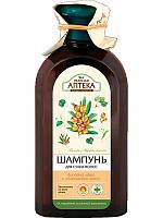 Зелена Аптека шампунь для сухого волосся Липовий цвіт і обліпихова олія 350 мл