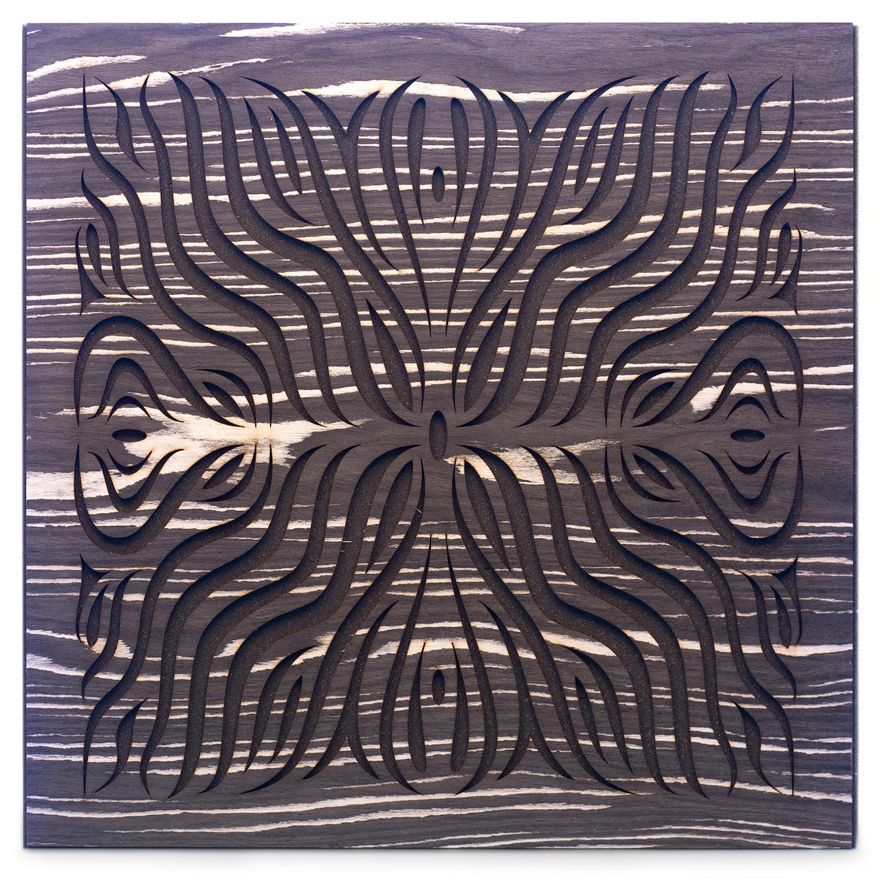 Акустическая панель Ecosound Chimera F Ebony&Ivory 50x50см 73мм цвет черно-белый