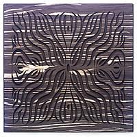 Акустическая панель Ecosound Chimera F Ebony&Ivory 50x50см 73мм цвет черно-белый, фото 1