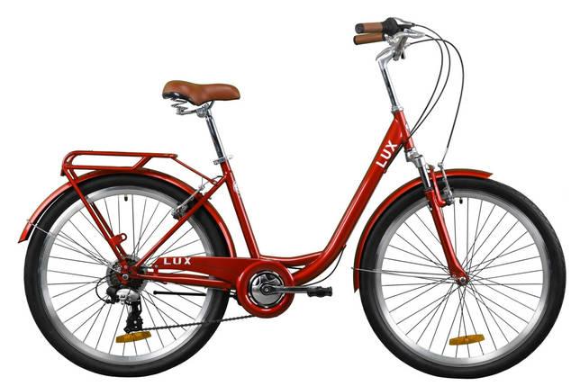"""Велосипед 26"""" Dorozhnik LUX AM 2020 (рубиновый), фото 2"""