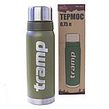 Термос 0,75 л Tramp TRC-031-olive, фото 3