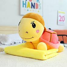 Дитячий плед іграшка Черепаха