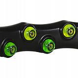 Обруч массажный для похудения с магнитами Springos Hula Hoop 100 см FA0096. Хулахуп, обруч для талии, фото 4