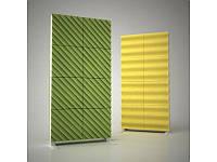 Акустическая ширма Ecosound Acoustic Wave color 200х100 цвет зеленый, фото 1