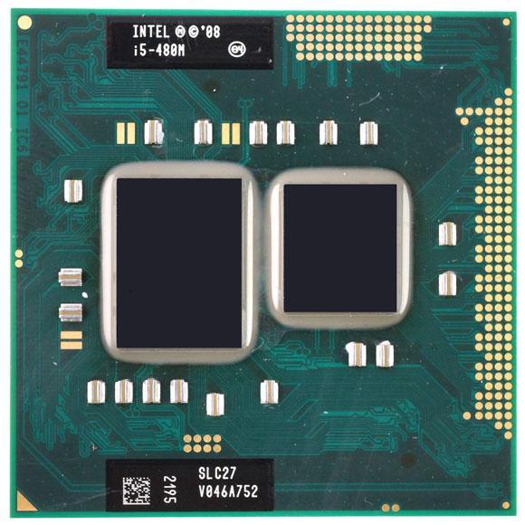 Процесор Intel Core i5-480M 2.66 - 2.93 GHz Socket G1 / Socket rPGA988A для ноутбука