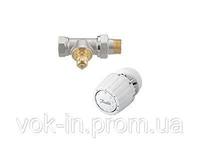Комплект терморегулятора прямой для однотрубной системы отопления Danfoss RA-G/RA 2994 DN20 (013G2184), фото 2