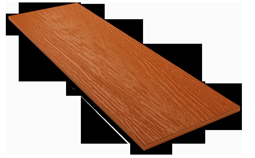 Фибросайдинг DECOVER terraccota(терракотовый)  3600*190*8 мм