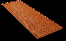 Фибросайдинг DECOVER terraccota(теракотовий) 3600*190*8 мм