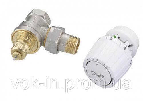 Комплект терморегулятора кутовий 013G2185 Danfoss RA-G/RA 2994 DN20