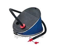 """Насос (насос """"лягушка"""") Intex №68610, ножной, качает и откачивает (2 режима), диаметр 32см"""