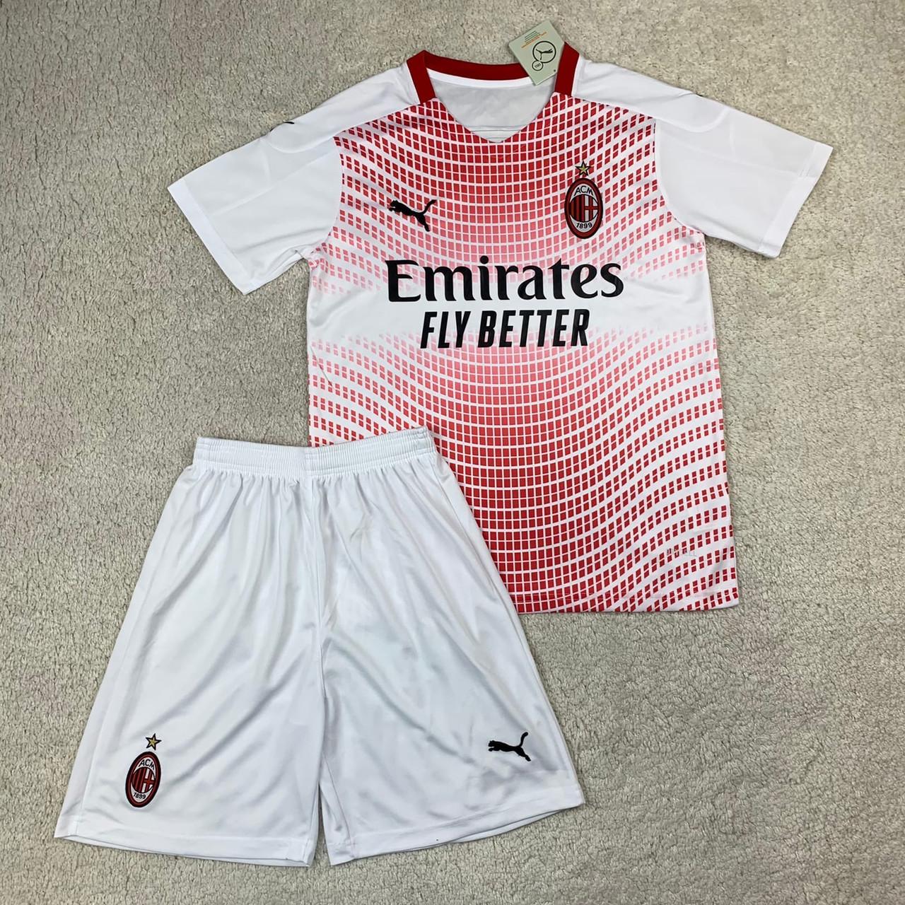 Футбольная форма Милан выездная сезон 2020-2021