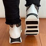 Ботинки женские зимние белые, фото 7