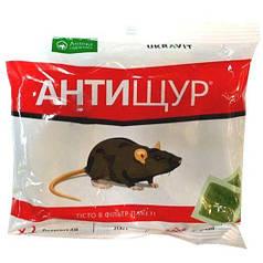 Родентицид Антищур тесто 200г средство от мышей и крыс Укравит