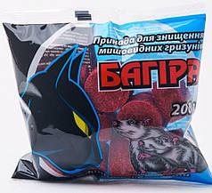 Родентицид Багира парафиновые брикеты, средство от мышей и крыс 200г Укравит