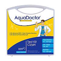 Тестер AquaDoctor Test Kit Cl/pH, фото 1