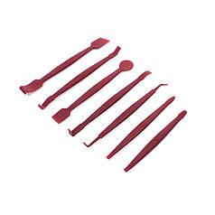 Набор инструментов съемников Lesko 54G Red для снятия обшивки салона автомобиля