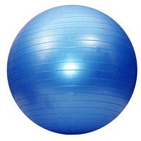 Мяч фитнес KingLion 55 см гладкий + насос Синий