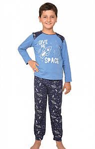 """Хорошая уютная пижама для мальчика """"Космос"""""""